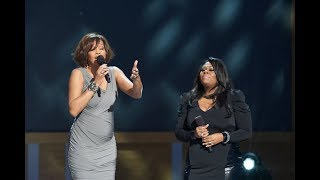"""Whitney Houston and Kim Burrell perform """"I look to you"""""""