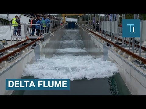 This Massive Wave Tank Helps Study Tsunamis