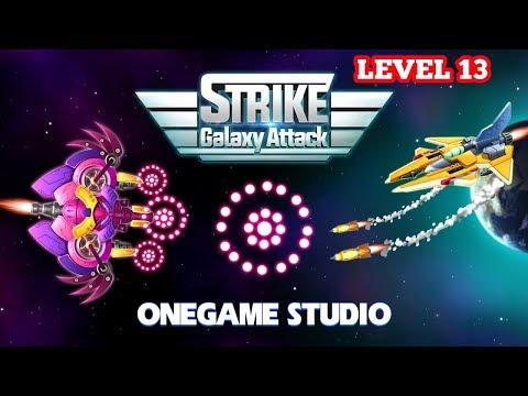 Strike Galaxy Attack: Alien Space Chicken Shooter Gameplay Level 13