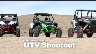 9. RZR XP 1000 vs Maverick vs Wildcat Comparison