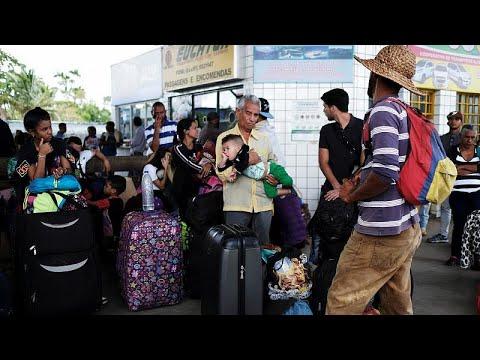 Μέτρα για καλύτερη κατανομή μεταναστών από τη Βενεζουέλα…