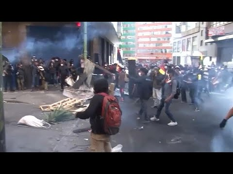 Πέντε νεκροί σε συγκρούσεις στη Βολιβία