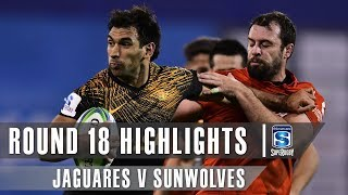 Jaguares v Sunwolves Rd.18 2019 Super rugby video highlights | Super Rugby Video Highlights