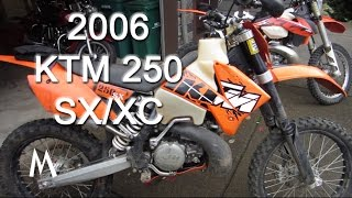 2. KTM 250sx/xc Motocross to Enduro