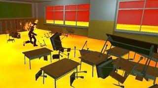 SCHOOL IS LAVA!!! - The Floor Is Lava Challenge 3!