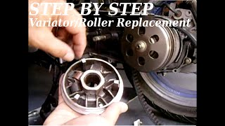 7. GY6 Variator/Roller Replacement & Tips(STEP BY STEP)