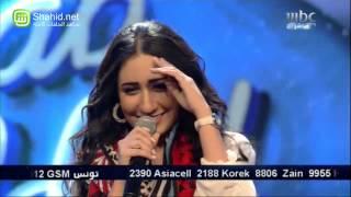 Arab Idol -حلقة البنات - حنان رضا - قالوا حبيبك مسافر