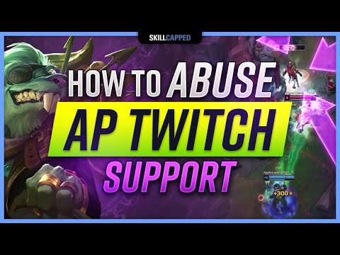How to ACTUALLY Play AP TWITCH Support in Preseason! - League of Legends