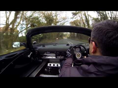 GoPro 3 Black Edition test in a Lotus Elise 111S