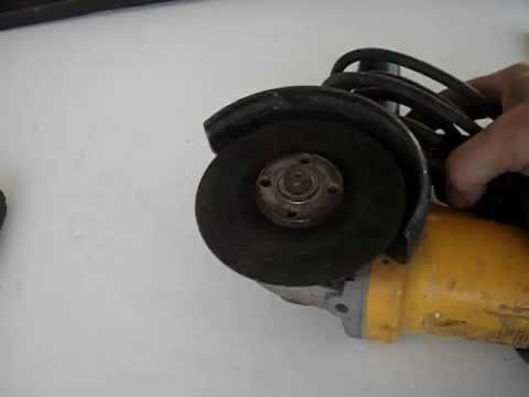 Uso de la amoladora o radial (2)
