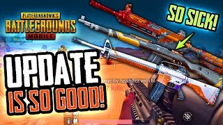 PUBG MOBILE NEW UPDATE - FIRST LOOK - IT'S SOOO GOOD!