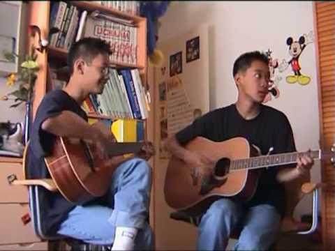 Gary & Ntony spelen gitaar (видео)
