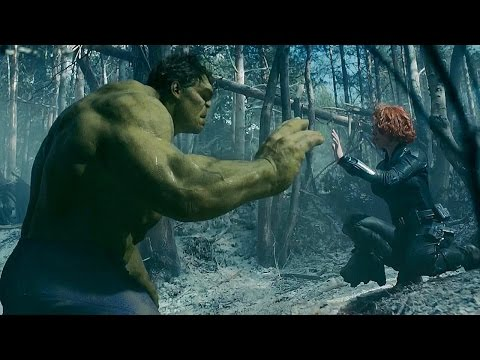 Black Widow Tames Hulk - Avengers: Age of Ultron - Movie CLIP HD