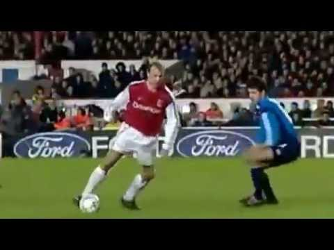 Dennis Bergkamp Top 10 Arsenal Goals