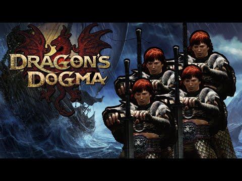 Four Warriors vs. Bitterblack Isle! (Dragon's Dogma Challenge)