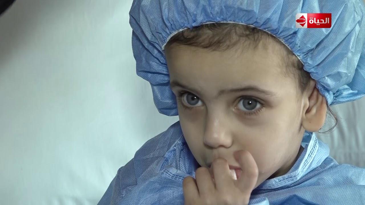 """صبايا مع ريهام - """"بنتي بتشوف الموت كل يوم بسبب ضيق التنفس""""...رسالة مؤثرة من ام بعد انقاذ بنتها"""