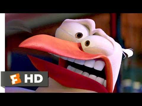 Storks (2016) - The Baby Factory Scene (2/10) | Movieclips