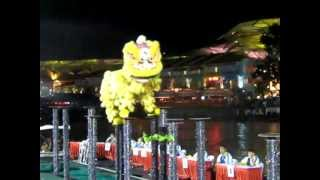 Binjai Indonesia  City pictures : 4th international lion dance in singapore , vsb binjai, indonesia