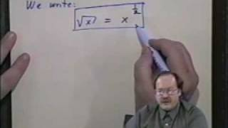 College Algebra - Lecture 3 - The Powers That Be-Exponents