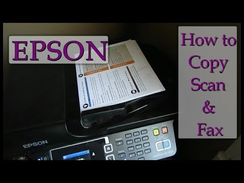 Learn how you can fax, copy and scan on an Epson Printer- You will love your printers features