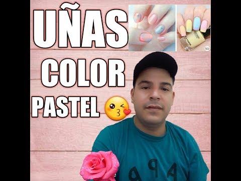 Uñas acrilicas Baby Bomer pastel