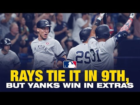 Video: Yankees win in the 10th against the Rays