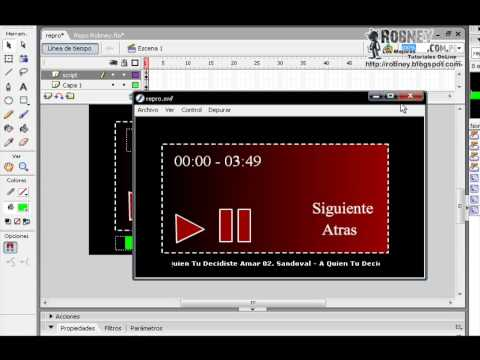 Crear Reproductor MP3 En Macromedia Flash 8 (Parte 2)
