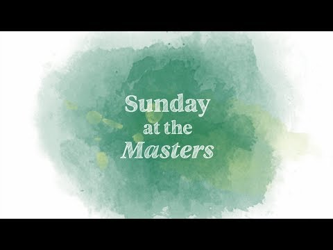 Welcome to Sunday at the Masters - Thời lượng: 68 giây.
