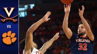 Virginia vs. Clemson Men's Basketball Highlights (2016-17)