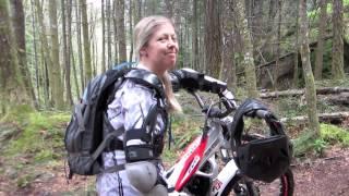 9. www.NoronaLife.com - Mountain Motorcycles - Kim's new Beta 200 Evo