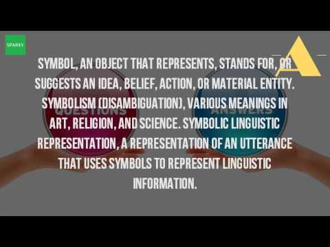 What Is The Meaning Of Symbolic Representation?