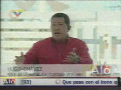 Chavez habla de Reinaldo Armas