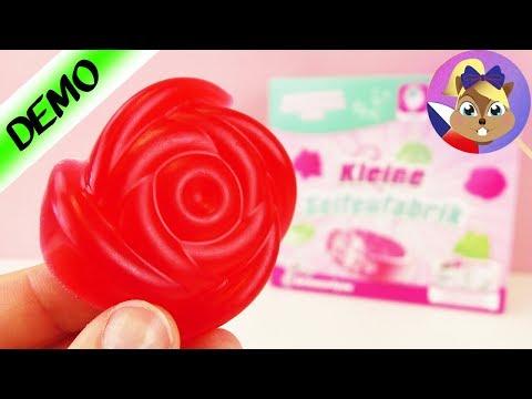 JAK SI SAMI UDĚLÁTE MÝDLO - výroba vonícího mýdla - MALÁ TOVÁRNA NA MÝDLO pro děti