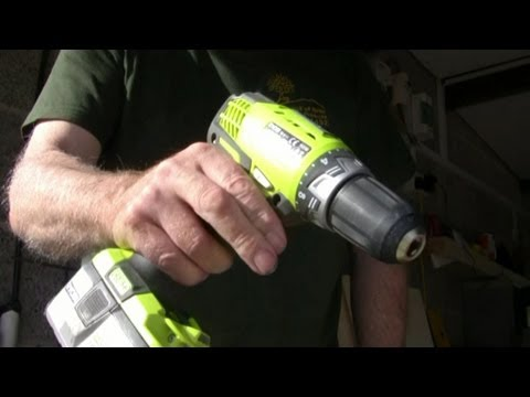 Woodworking tips - Screwfixing with Hitachi cordless