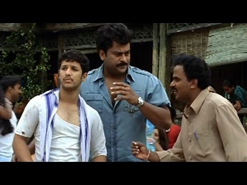 Jai Chiranjeeva Movie || Chiranjeevi Enquiring About Rahul Dev