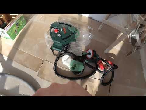 Сетевой краскопульт BOSCH PFS 5000 E и немного о Шлифовальной машине Aspro D3 2665 НЕ ОБЗОР!!!