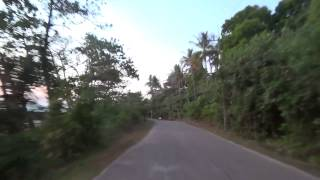 Sunset Drive In Ko Lanta, Thailand