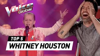 Video BEST WHITNEY HOUSTON Blind Auditions on The Voice Kids MP3, 3GP, MP4, WEBM, AVI, FLV Oktober 2018