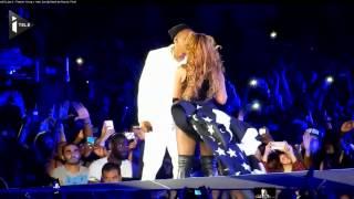 Beyonce et Jay-Z enflamment le Stade de France - YouTube