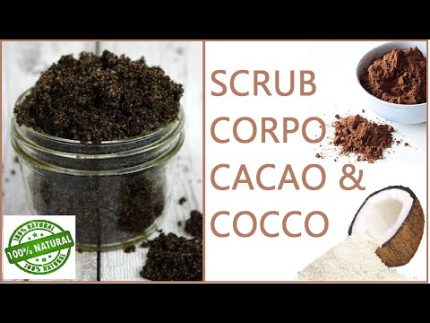 scrub cioccococco - fai da te da provare