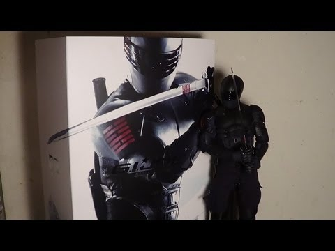 Hot Toys G.I. Joe Retaliation Snake Eyes figure review