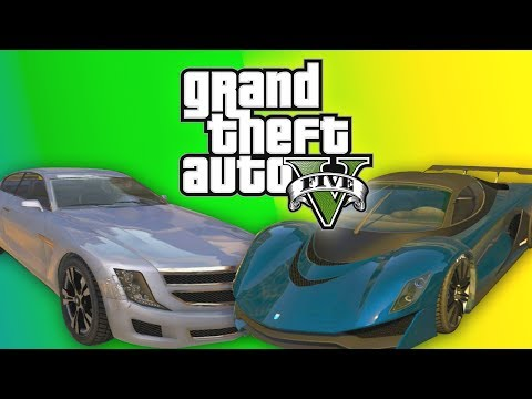 GTA 5 Online: NEW Rare Car DLC Gameplay – ALL Business Update Cars Turismo Jester & Alpha (GTA V)