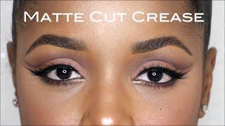 Matte Cut Crease Fall Makeup Tutorial   Ellarie