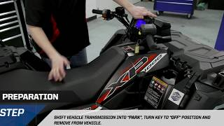 9. SPORTSMAN® XP1000 Polaris® PRO HD Winch with Rapid Rope Recovery Install | Polaris Off-Road Vehicles