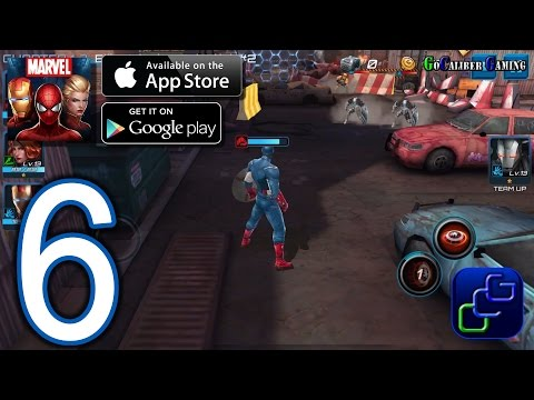 Marvel Future Fight Android iOS Walkthrough – Part 6 – Chapter 1 ELITE: Stages 6-8