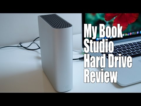 WD My Book Studio External Hard Drive for Mac Review / Unboxing / Speed Test USB 3.0
