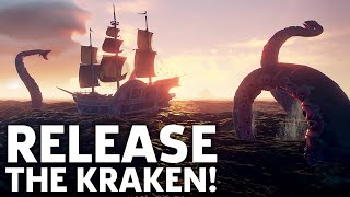 Sea Of Thieves - First Look at the Kraken Gameplay