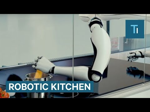 Robotic Chef Does All The Cooking For You