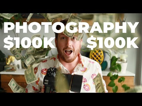 PHOTOGRAPHY - MAKE $100,000 PER YEAR