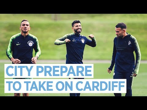 Video: CITY PREPARE TO TAKE ON CARDIFF | TRAINING | MAN CITY